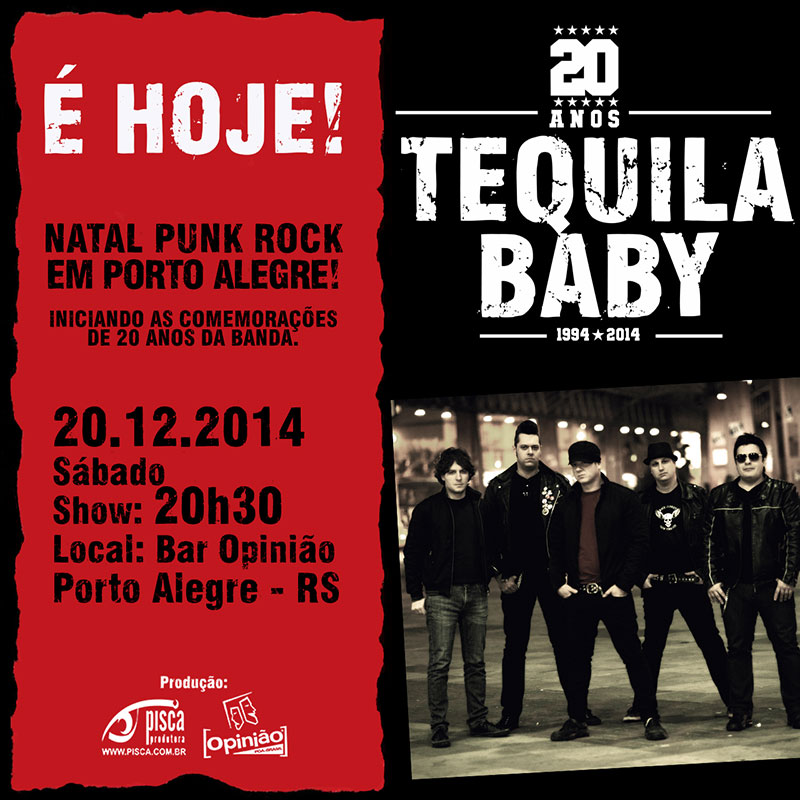 Tequila Baby - Show POA